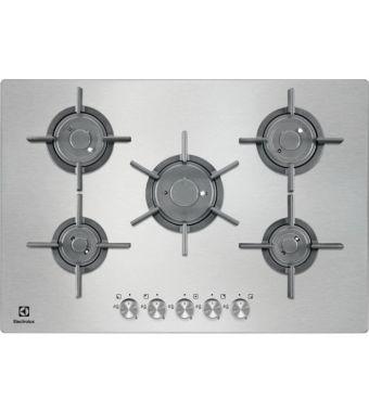 ELECTROLUX 75 cm Ultraflat Profilo 8 mm - 5 fuochi - Bruciato PQF750UOX - PRONTA CONSEGNA