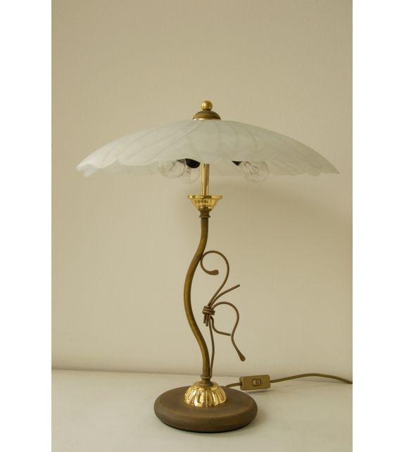 Minitallux Lampada da tavolo 3xE14 in vetro alabastro