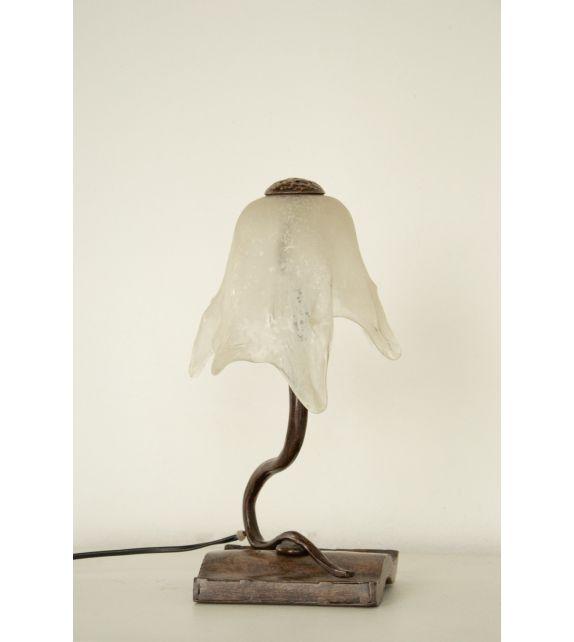 Minitallux Lumetto 1xE14 in vetro scavo bianco