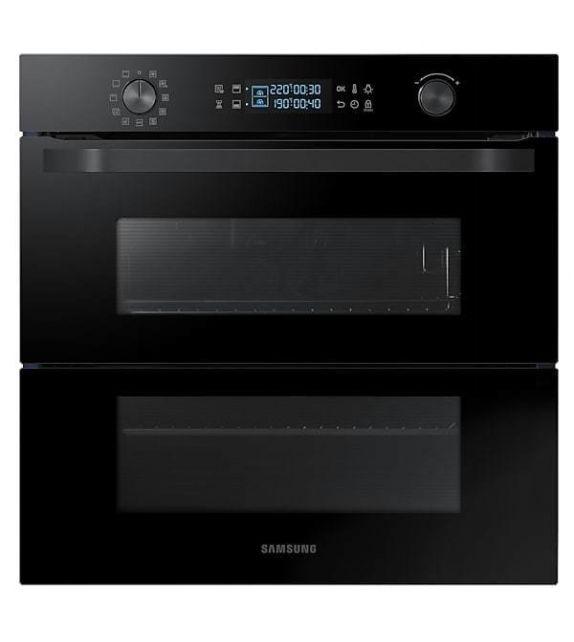 Samsung Forno multifunzione Dual Cook Flex da incasso NV75N5641RB finitura vetro nero da 60cm - IN PRONTA CONSEGNA