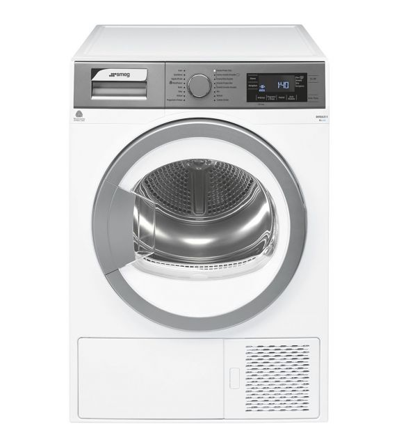 Smeg Asciugatrice a libera installazione DT171IT finitura silver/bianco da 60 cm