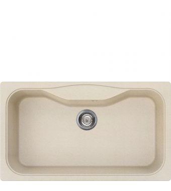 Smeg Lavello ad una vasca LSEG860AV2 finitura avena da 86 cm