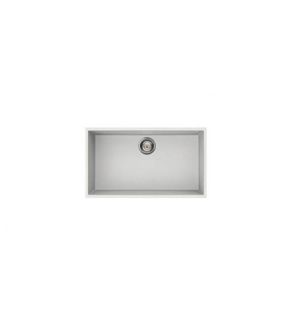 Smeg Lavello ad una vasca VZUM79B finitura bianco da 72 cm