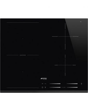 Smeg Piano cottura ad induzione SI1M7643B in vetro nero da 60cm